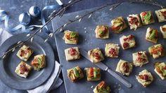 BBC Food - Recipes - Puff pastry pizza bites