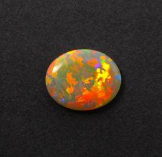 Australian black opal 1.10 carat loose gemstone - Solid opal CLICK HERE