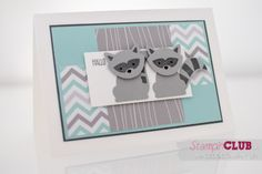 Stampin Up Foxy Friends member dance fox Fox Builder Punch Foxy DSP A Little Foxy