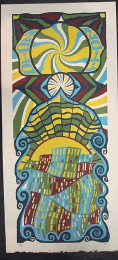 Original silkscreen concert poster for Phish for at Madison Square Garden in New York City, NY for New Years in 2010. It is printed on Watercolor Paper with Acrylic Inks and measures around 10 x 22 inches.  Print is signed and numbered 8 of only 75 by the artist Tripp.