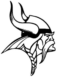 6 Inch Minnesota Vikings Football logo decal sticker by Cafedecals, $5.00