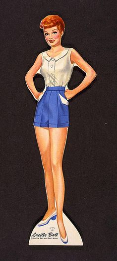 Lucy paper doll