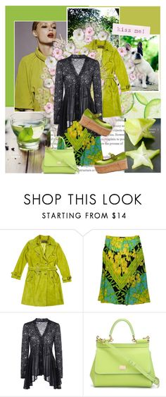 """""""Star Fruit"""" by la-belle-folie ❤ liked on Polyvore featuring Loro Piana, Versace, Dolce&Gabbana and Miu Miu"""