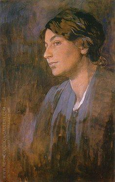 Alphonse Mucha - Maruska's Portrait 1903