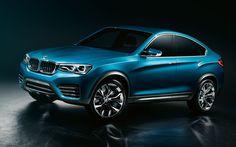 Blue BMW X5 Wallpaper HD Widescreen