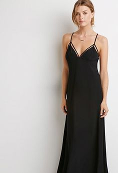Contemporary Strappy Maxi Dress | Forever 21 - 2000113522