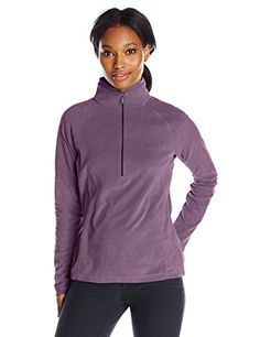 White Sierra Womens Alpha Beta Quarter Zip Hoodie Deep Purple XLarge ** Want additional info? Click on the image.(This is an Amazon affiliate link and I receive a commission for the sales)