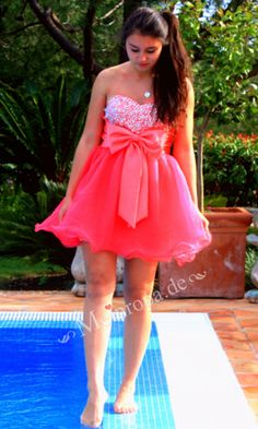 lovely pink ball gown