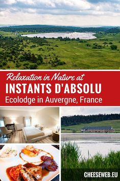 Wondering where to stay in Auvergne, France? Instant d'Absolu Ecolodge on Lac du Pecher is the ultimate luxury sustainable hotel. This eco-lodge has an amazing restaurant and plenty of hiking in the gorgeous french countryside. Travel Info, Travel Advice, Travel Guides, Travel Tips, Hotels And Resorts, Best Hotels, France Travel, Travel Europe, Unique Hotels