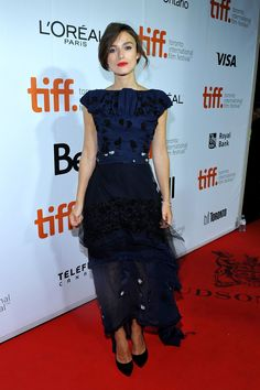 Keeping Up with Keira Knightley - Keira Knightley in Michael Van Der Ham-Wmag