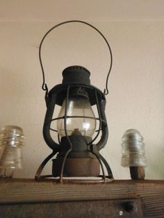 Early New York Central Railroad Marked Globe & Canopy Vesta HT Lantern  c. 1907