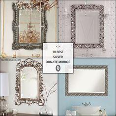 10 Best Silver Ornate Mirror Silver Ornate Mirror, Furniture, Home Decor, Decoration Home, Room Decor, Home Furnishings, Home Interior Design, Home Decoration, Interior Design