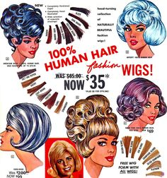 wigs!