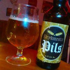 ..medication time with some Finnish Pils! ..Prykmestar Pils 4.5% is a pleasant dose! 🍺😎👍  .  .  #drinksoftheworld #finnish #suomi #finland #beersoftheworld #pils #pilsener #booze #uusikaupunki #prykmestar #craftbeer #kippis #olut #vakkasuomenpanimo #beer #nystad #instabeer #bier #öl #skål #slainte #beerstagram #saturday #medicationtime #prykmestarpils #beerporn #beergeek #beerpics #instapils