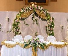 Replay: Pictures of Head Table Decorations