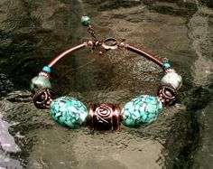 Genuine Natural African Turquoise Mosaic Turquoise by IslandGirl77, $29.99