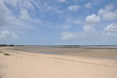la grande plage de Rivedoux