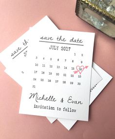 **Most common question: How many do I get for $18? Answer: This is a DIGITAL FILE which means that YOU PRINT or you take to a print shop!! So basically, you can print 5,000 or 4 - totally up to you!! (FILES COME TO YOUR EMAIL - NOTHING IS SENT IN THE REAL MAIL!) Calendar Save the Date Card OUR MOST POPULAR, ADORABLE SAVE THE DATE! LOVED BY EVERYONE! AS SEEN IN SEVERAL MAGAZINES! . . . . . . . . . . . . . . . . This listing is for one Save the date printable file. NOTHING IS MAILED TO YOU…
