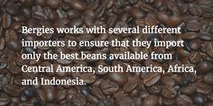 Bergies Coffee Roast House specializes in custom roasting and blending of coffee beans. Bruce and Brian Bergeson of Bergies take pride in their coffee. Best Beans, Coffee Roasting, Coffee Beans, Brewing, Good Things, Food, Meal, Essen, Hoods