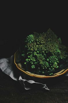 romanesco cabbage by abrowntable, via Flickr