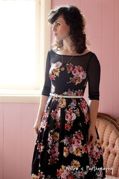 this look from the ModCloth Style Gallery! Cutest community ever. #indie #style  Oh my word. I want this dress