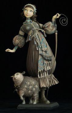 Doll - Artist - Tamara Pivnyuk (Ukraine)