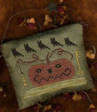 Homespun Elegance | Homespun Elegance Halloween Year Owls Night Out- Cross Stitch Pattern ...