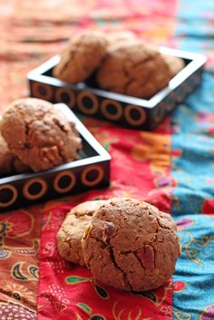 Cookies dorés sans gluten {vegan} - farine de lupin et de maïs