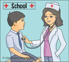Funny Nurse Clip Art | Download school_nurse_812  - pinned by @PediaStaff – Please Visit ht.ly/63sNtfor all our ped therapy, school & special ed pins