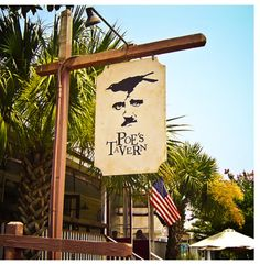 Some of the best burgers in Charleston, SC can be found at Poe's Tavern on Sullivan's Island. The restaurant is named and themed after the island's most famous resident, Edgar Allan Poe.
