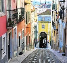 Tram way, Lisbon