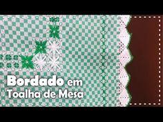 BORDADO XADREZ EM TOALHA DE MESA com Ana Maria Ronchel - Programa Arte Brasil - 22/08/2016 - YouTube