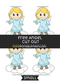 Free Angel Cut Out -Small