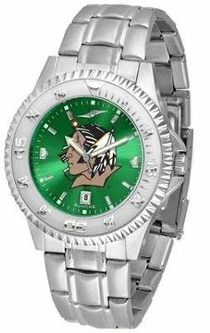 University of North Dakota Men's Stainless Steel Dress Watch by SunTime. $88.95. AnoChrome Dial Enhances Team Logo And Overall Look. Stainless Steel. Links Make Watch Adjustable. Men. Officially Licensed North Dakota UND Fighting Sioux Men's Stainless Steel Dress Watch. North Dakota Fighting Sioux men's stainless steel watch. College dress watch with rotating bezel color-coordinated to compliment your favorite team logo. The Competitor Steel utilizes an attractive and...