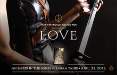 An Ember in the Ashes by Sabaa Tahir poster: Love Find A Book, Love Book, Ya Books, Great Books, Elias Und Laia, Never Have I Ever, Would You Rather, Book Characters, Ash