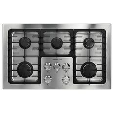 Electrolux�ICON 36-in 5-Burner Gas Cooktop (Stainless) My New Gas Stovetop