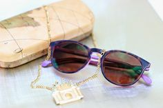 92db84df2c4267 Sprinkles on a cupcake  New in  Sunnies with a hint of purple