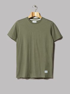 Norse Projects Niels Basic Tee (Dried Olive)