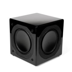 The Energy ESW-M6 subwoofer delivers deep, accurate effects and music, with up to 800 watts of room-filling power, from an 8-inch cube that's the smallest we make. Plus, it works with a number of speakers in the Energy line, letting you put together a system your buddies will envy.