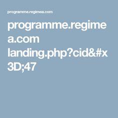 programme.regimea.com landing.php?cid=47