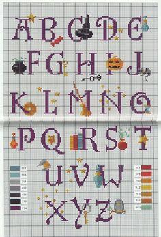 Harry Potter Alphabet 1 cross stitch