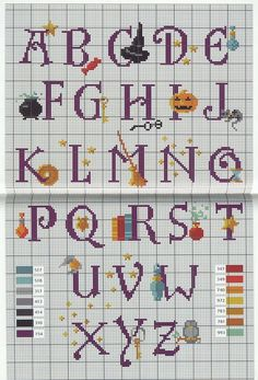 Harry Potter Alphabet 1
