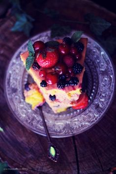 Cherry Berry Mousse Cake 17