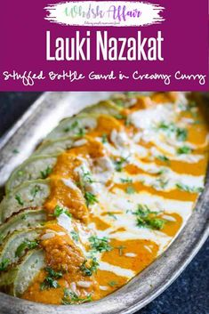 Lauki Nazakat is a vegetarian Awadhi recipe made with bottle gourd which truly reflects the rich and royal nature of the Mughlai Cuisine. Veg Breakfast Recipes Indian, Veg Dinner Recipes, Entree Recipes, Indian Food Recipes, Cooking Recipes, Indian Breakfast, Veg Dishes, Side Dishes, Special Recipes