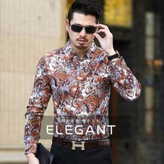 Sweatwater Mens Dashiki Stand Collar Muslim Classic Printed Button Down Shirts
