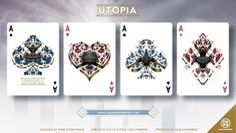 Utopia Playing Cards by Card Experiment