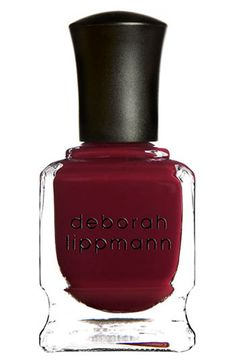 Deborah Lippmann Gel Lab Pro Nail Color - You Oughta Know Glp Nail Polish Online, Fall Nail Polish, Red Polish, Polish Nails, Nail Treatment, Hair Loss Treatment, Deborah Lippmann Nail Polish, Lab, Broken Nails