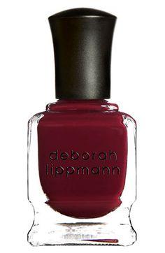 { Deborah Lippmann Nail Color Lady Is A Tramp }