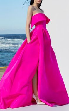 Strapless Open Cuff Gown by Alex Perry Resort 2019