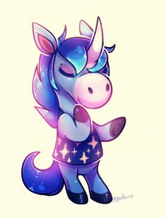 Julian...the wanna be unicorn! So cute and sparkly